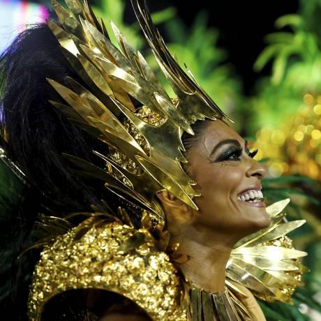 Desfile das Escolas de Samba do Grupo Especial - Grande Rio. Juliana Paes Foto: Pablo Jacob / Agencia o Globo