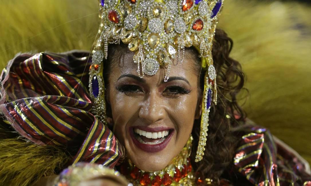 Destaques desfilaram pela Paraíso do Tuiuti Foto: Marcio Alves / Agência O Globo
