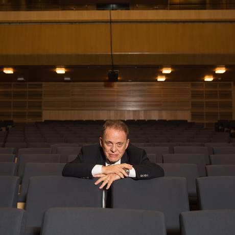 Para o diretor Miguel Proença, outro pilar de 2018 é uma homenagem a Edino Krieger, que faz 90 anos: 'Pedi a todos que têm pauta aqui que incluíssem obras dele' Foto: Divulgação