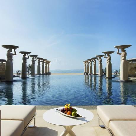 The Mulia, hotel de luxo em Bali, Indonésia Foto: Divulgação / The Mulia
