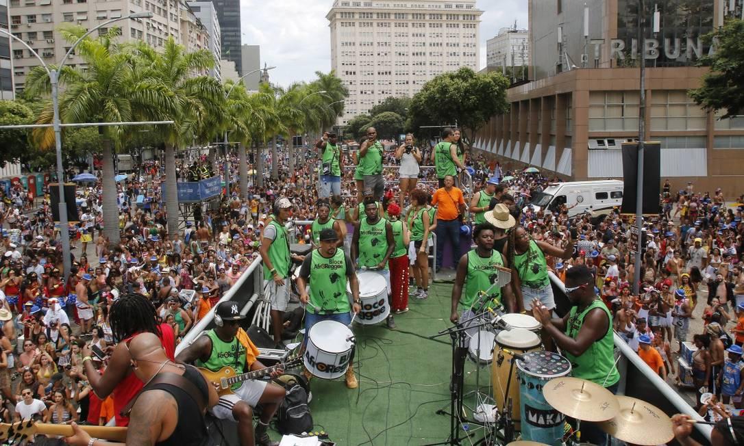 O AfroReggae completou 25 anos em 2018 Foto: Reginaldo Pimenta / Agência O Globo