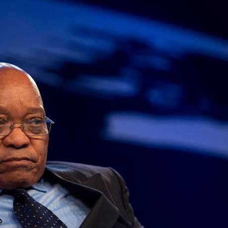 O presidente sul-africano Jacob Zuma Foto: JOHANNES EISELE / AFP