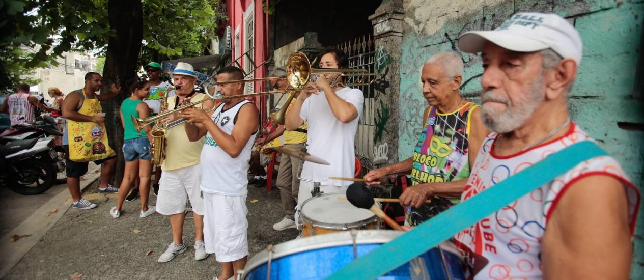O nome é uma homenagem à Rua Ceará, que abriga a Vila Mimosa Foto: Brenno Carvalho / Agência O Globo
