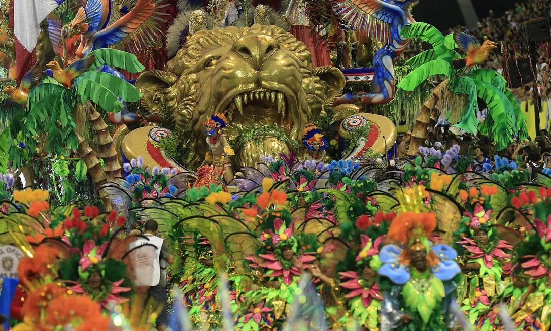 Tatuapé venceu o carnaval de 2017, tornando-se bicampeã em 2018 Agência O Globo