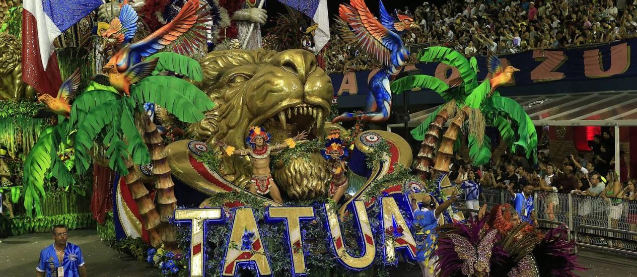 Resultado de imagem para Acadêmicos do Tatuapé é bicampeã do carnaval de SP