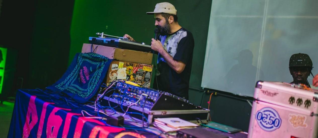 DJ Marcus MPC Foto: Duivulgação/I Hate Flash/Fernando Schlaepfer