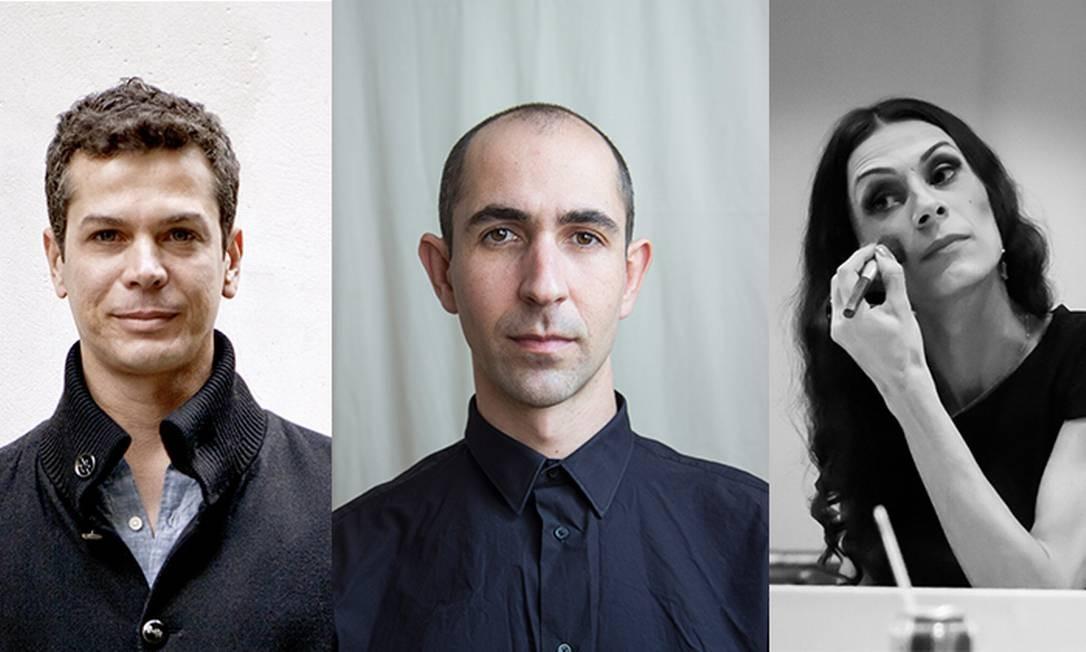 Wagner Schwartz, Maikon K e Renata Carvalho estarão juntos em 'Domínio público' Foto: Fotos de divulgaçãp