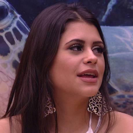 Ana Paula, a 'bruxinha', do 'BBB 18' Foto: Reprodução
