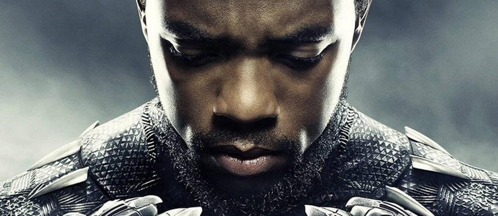O ator Chadwick Boseman interpreta o super-heróis protagonista Foto: Divulgação