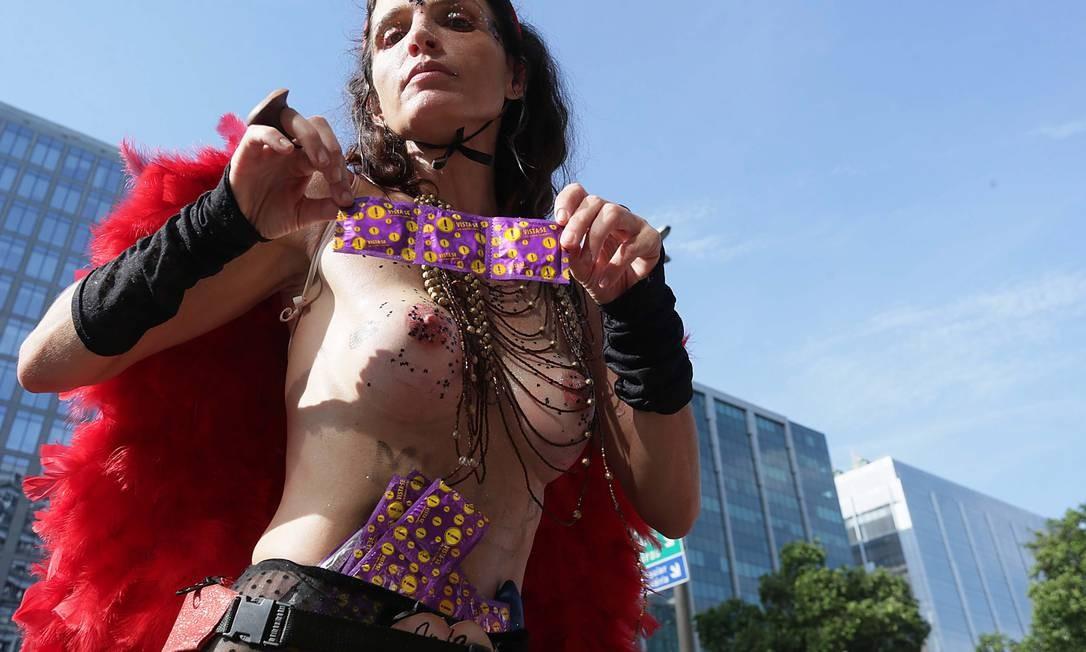 O Bloco Boi Tolo retratou a concepção do carnaval do engajamento Cléber Júnior / Agência O Globo