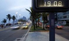 Horário de verão termina no próximo sábado Foto: Fabio Rossi / Agência O Globo