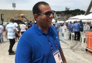 O diretor de carnaval da Tuiuti, Thiago Monteiro Foto: Ricardo Rigel / Agência O Globo