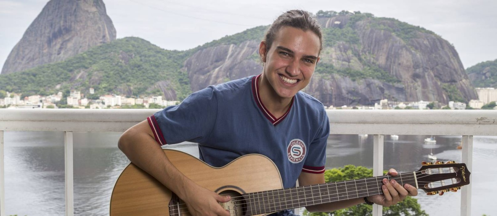 O ator Tom Karabachian é um dos novos rostos de 'Malhação: vidas brasileiras' Foto: Marilia Cabral / Divulgação/TV Globo