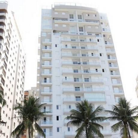 O imóvel atribuído ao petista, no edifício Solaris Foto: Marcos Alves / Marcos Alves/Agência O Globo