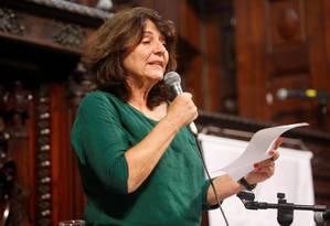A historiadora Dulce Pandolfi, uma das pesquisadoras do CPDOC demitidas em janeiro Foto: Gustavo Stephan / Arquivo 28-05-2013