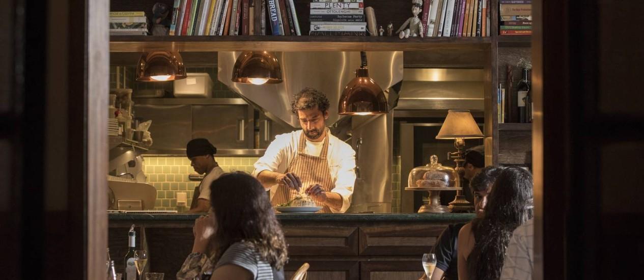 Nello Garaventa, chef do Grado Foto: Ana Branco / Agência O Globo