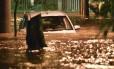 Temporal desta quinta-feira deixou várias ruas do Rio alagadas