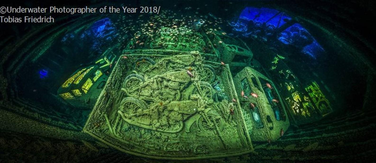 O alemão Tobias Friedrich foi o grande vencedor do concurso Underwater Photographer of the Year 2018 Foto: Tobias Friedrich