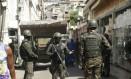 Militares em operação no Jacarezinho (18/01/2018) Foto: Gabriel de Paiva / O Globo