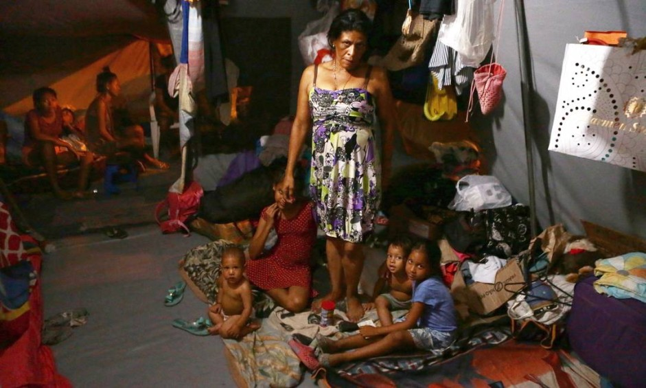 Cerca de 18 mil venezuelanos chegaram a Roraima nesse começo de ano Foto: Jorge William / Agência O Globo