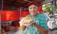 Magrinho. Sanduíches de qualidade, simpatia e frases de efeito Foto: Brenno Carvalho / brenno carvalho