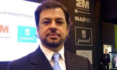 Valentín Díaz Gilligan teria mantido US$ 1,2 milhão (cerca de R$ 3,9 milhões) em nome da empresa britânica de representação de jogadores de futebol Line Action, em Andorra Foto: Twitter