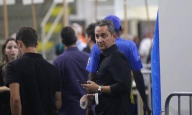 Carlos Leite durante a eleição para a presidência do Vasco Foto: Márcio Alves / Agência O Globo