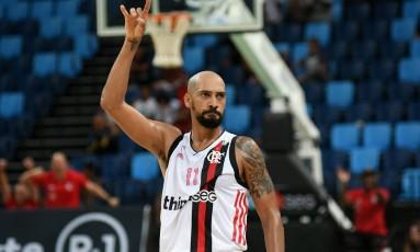 Marquinhos, do Flamengo, foi o cestinha do jogo com 23 pontos Foto: Staff Imagens/Flamengo