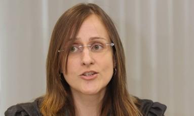 Christiane Cavassa Freire, coordenadora das Promotorias de Justiça de Tutela Coletiva de Defesa do Consumidor do MPRJ e uma das mentoras do portal Foto: Carlos Ivan / Carlos Ivan/16-4-2013