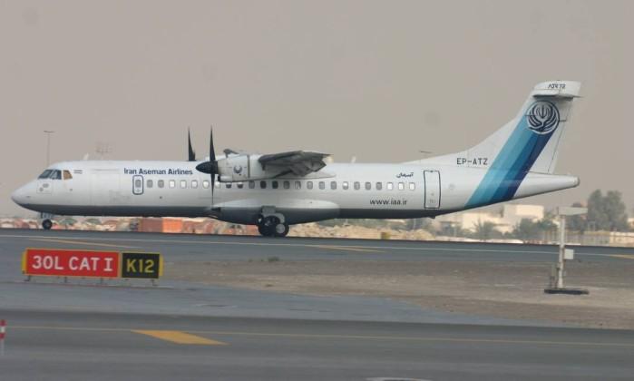 Resultado de imagem para Avião com 66 a bordo cai no Irã