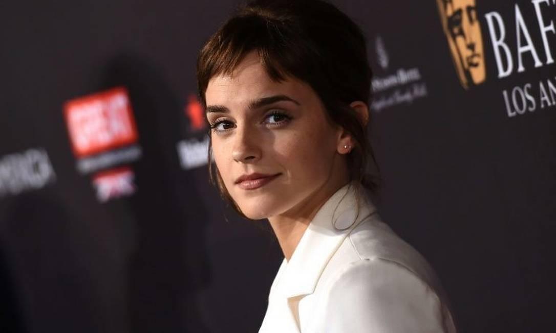 bca5459247e6f Emma Watson doa 1 milhão de libras para luta contra assédio - Jornal ...