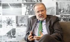 Ministro da Defesa, Raul Jungmann Foto: Marcelo Carnaval / Agência O Globo