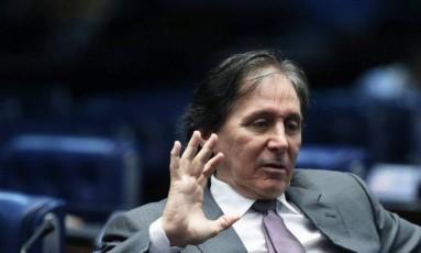 Presidente do Senado, Eunicio Oliveira Foto: Agência O Globo