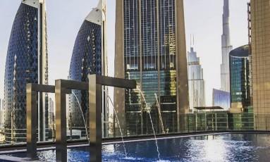 O hotel mais alto do mundo fica em Dubai e tem vista panorâmica Foto: Divulgação