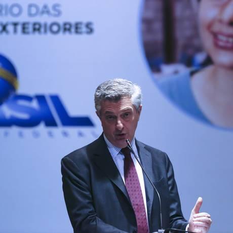 O alto comissário das Nações Unidas para os refugiados, Filippo Grandi Foto: Michel Filho / Agência O Globo