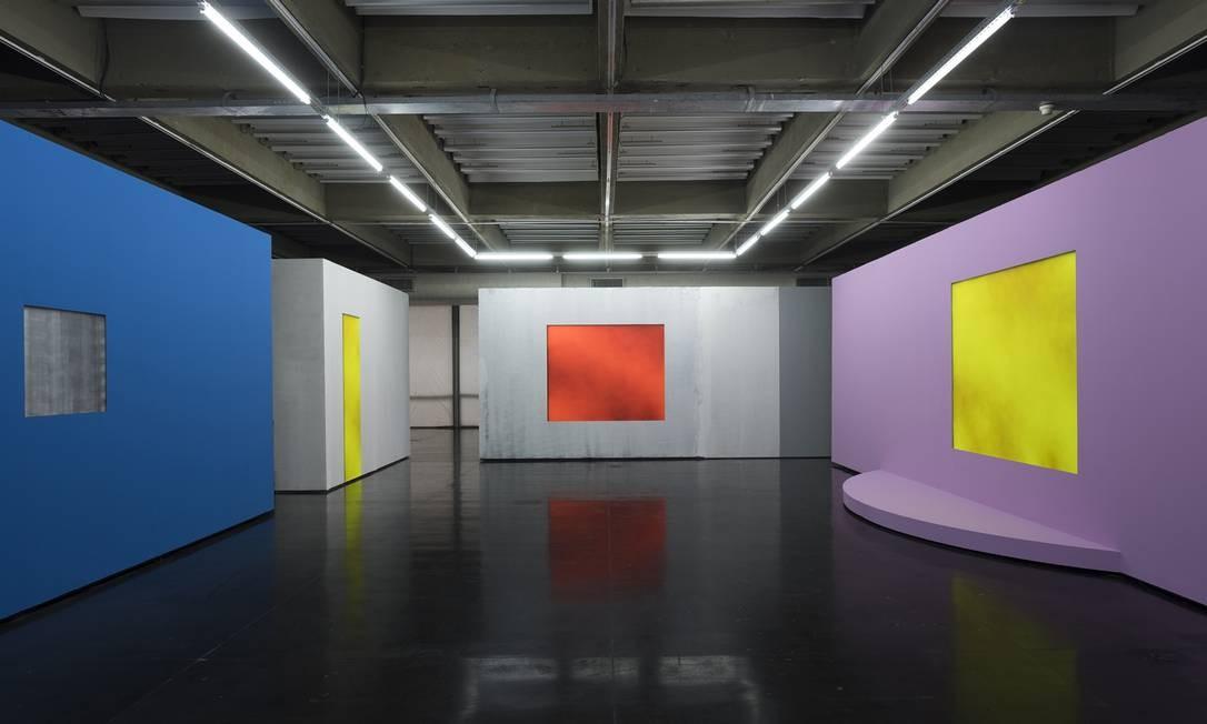 """Em sua primeira individual num museu, o artista plástico britânico Christopher Page apresenta a instalação """"Blind gallery"""", no Museu de Arte Moderna. Ter a sex, do meio-dia às 18h. Sáb e dom, das 11h às 18h. Grátis (às quartas) e R$ 14. Foto: Divulgação/Wagner Kox"""