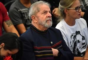 O ex-presidente Luiz Inácio Lula da Silva Foto: Nelson Almeida / AFP / 3-2-17