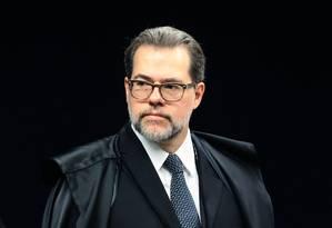 O ministro Dias Toffoli, do Supremo Tribunal Federal Foto: Jorge William / Agência O Globo/7-2-17
