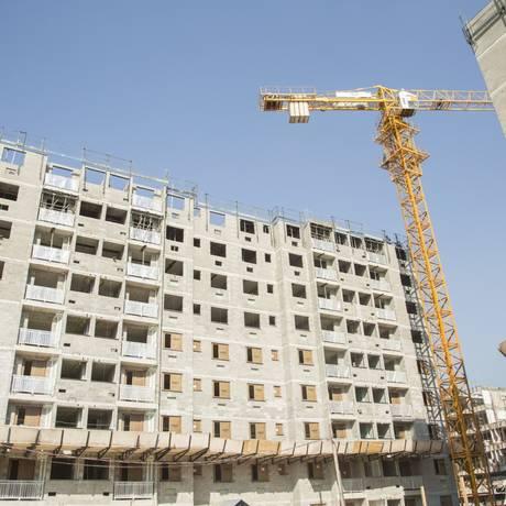O indicador de construção civil registrou o terceiro avanço consecutivo na margem, registrando alta de 2% em dezembro Foto: Analice Paron / Agência O Globo