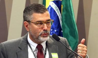 Secretário-executivo de Minas e Energia, Pedro Pedrosa, participa de reunião no Senado. Foto: Givaldo Barbosa / Agência O Globo