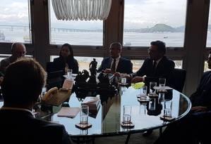 Reunião de Ministro da Justiça no TJ do Rio Foto: Marcos Nunes / O Globo