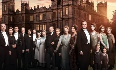 Elenco de Downton Abbey Foto: Divulgação/ITV