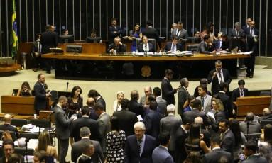 Congresso discute vetos ao projeto que trata de novas regras de adoção Foto: Ailton de Freitas / Agência O Globo