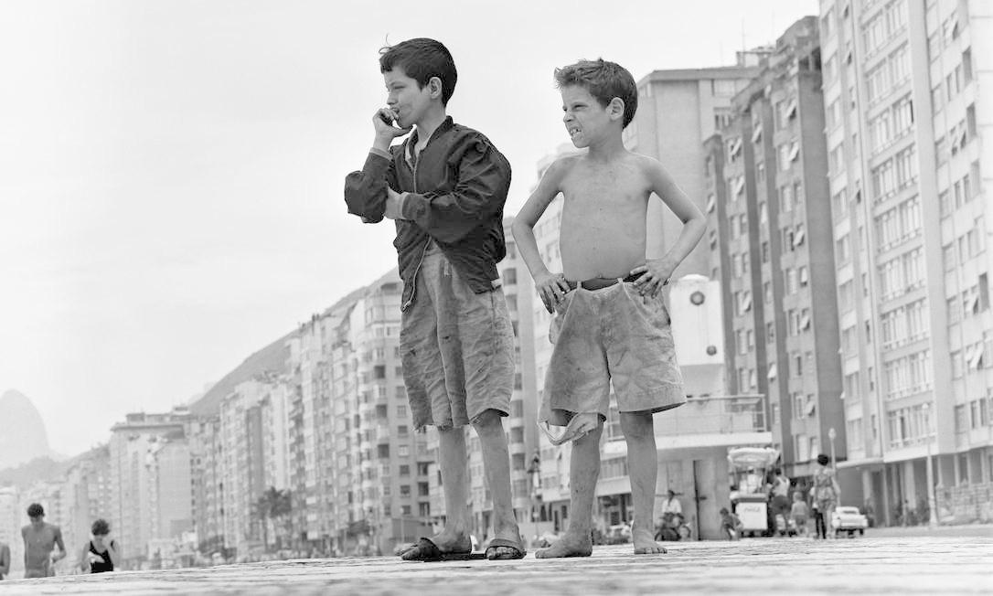 Foto de Gordon Parks no Rio de Janeiro, em 1961 Foto: Gordon Parks/Fundação Gordon Parks