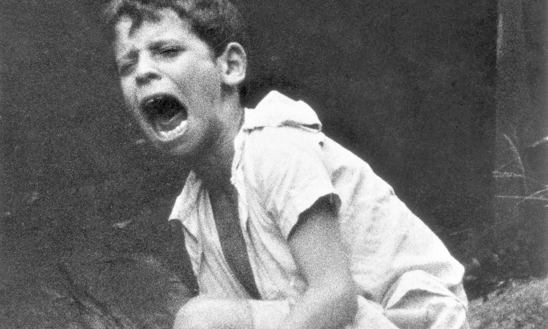 O menino Flávio fotografado por Gordon Parks, em 1961 Foto: Gordon Parks/Fundação Gordon Parks