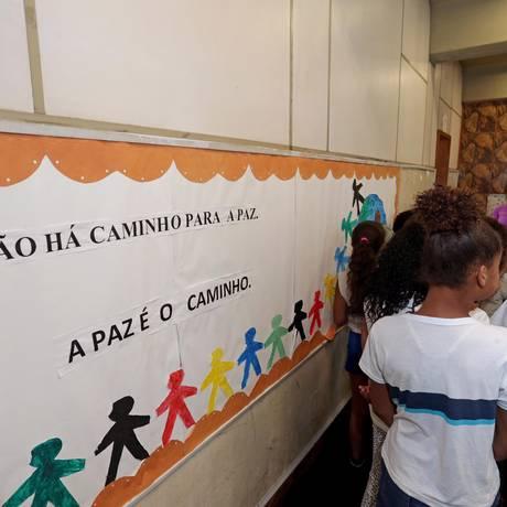 Escola pública no Rio de Janeiro Foto: Márcio Alves / Agência O Globo
