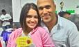 Lara e Bruno, em foto de rede social Foto: Facebook / Reprodução