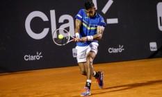 Thiago Monteiro perdeu na estreia no Rio Open Foto: Divulgação