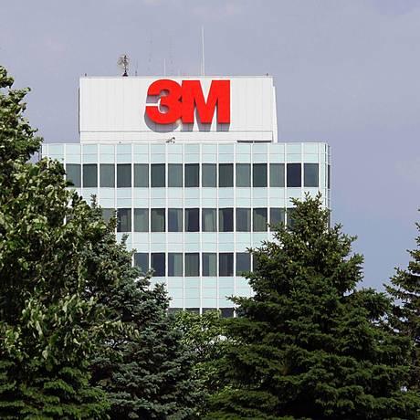 Sede da 3M na cidade de St. Paul, em Minnesota, nos Estados Unidos. Karen Bleier/AFP