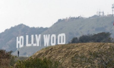 Hollywood Hills, em Los Angeles Foto: Damian Dovarganes / AP